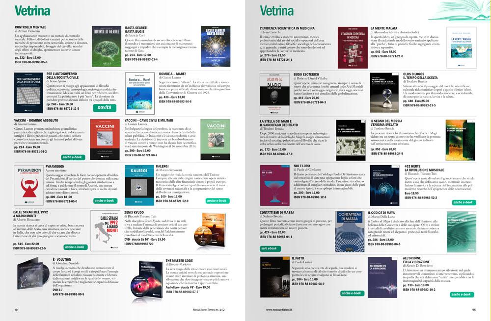 Progettazione grafica riviste - interno