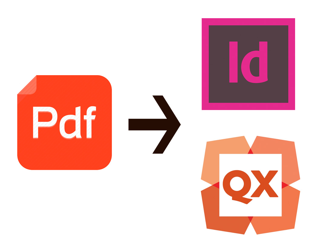converting pdf to indesign