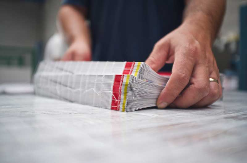 stampa on line: brossura a filo