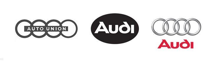 restyling del logo audi