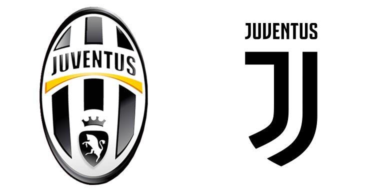 restyling del logo juventus